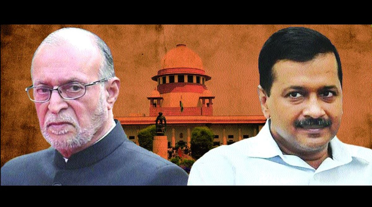 AAP vs LG, Delhi government, Arvind Kejriwal, Anil Baijal, Supreme Court, officers transfer