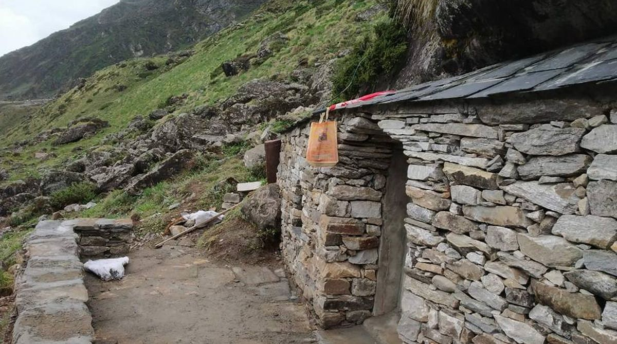 A meditation cave in Kedarnath has got a complete facelift