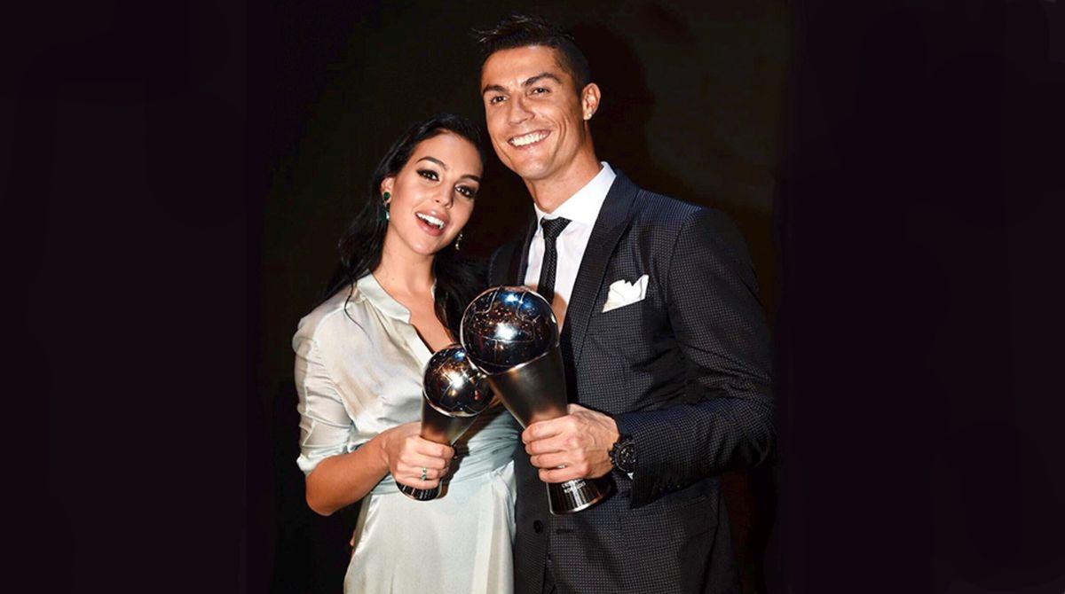 نتيجة بحث الصور عن Ronaldo and his fiancée