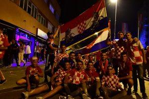 Croatians celebrate World Cup triumph