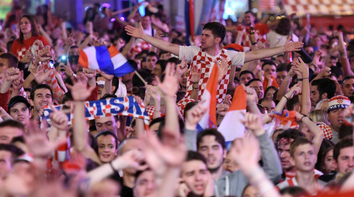 In Pictures: Celebrations galore as Croatia stun England
