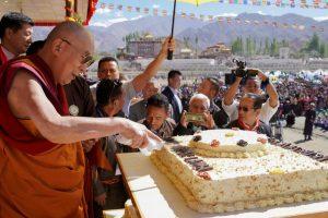 Dalai Lama celebrates birthday in Leh, blesses followers
