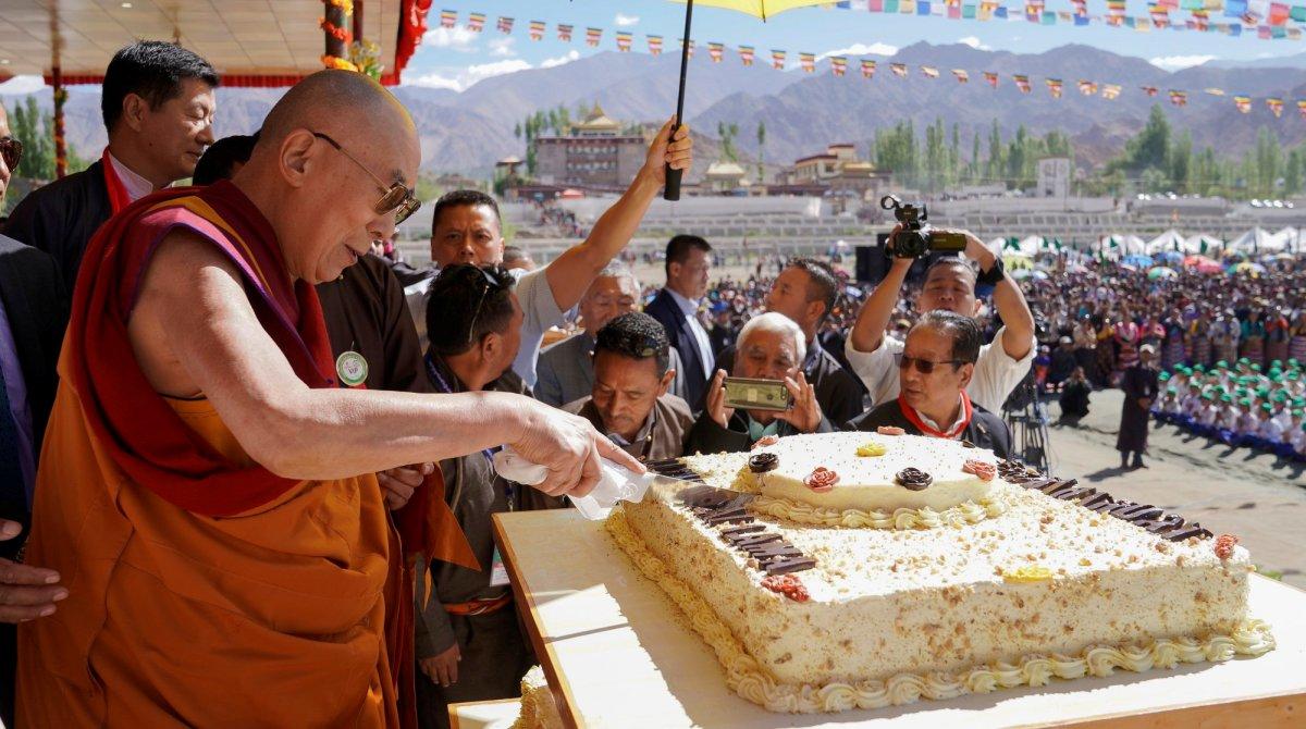 Dalai Lama Buddhist leader