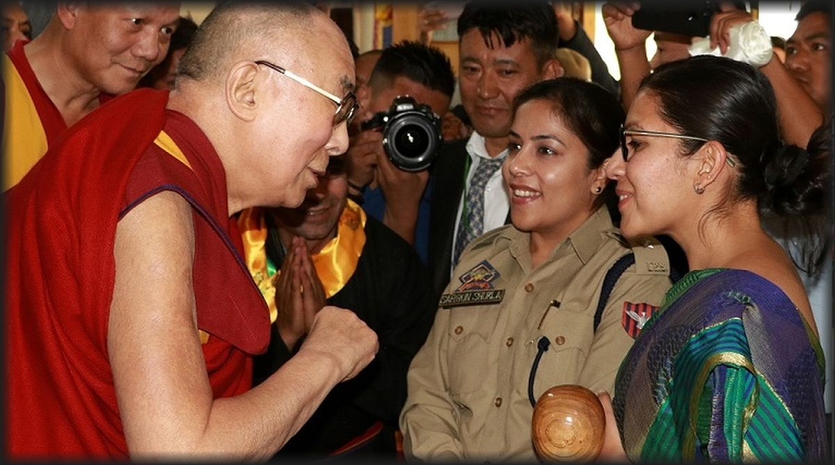 Dalai Lama, Buddhist communities, monasteries, learning centres,