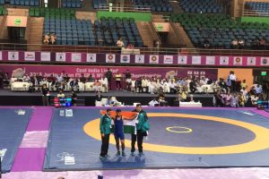 India produce strong performance at Asian junior wrestling