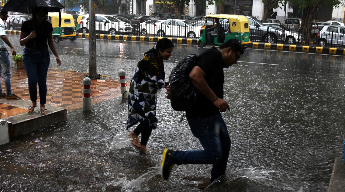 Delhi Monsoon Rain