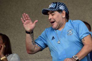 Argentine football is in a mess, laments legend Diego Maradona