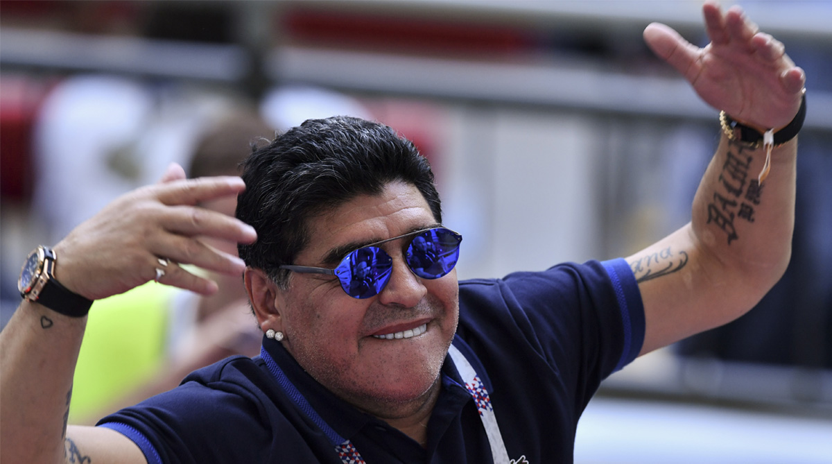 Diego Maradona, Argentina Football, 2018 FIFA World Cup, FIFA World Cup 2018,