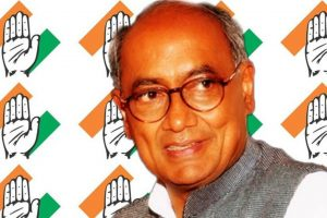 BJP behind protests against SC/ST Act amendment: Digvijay
