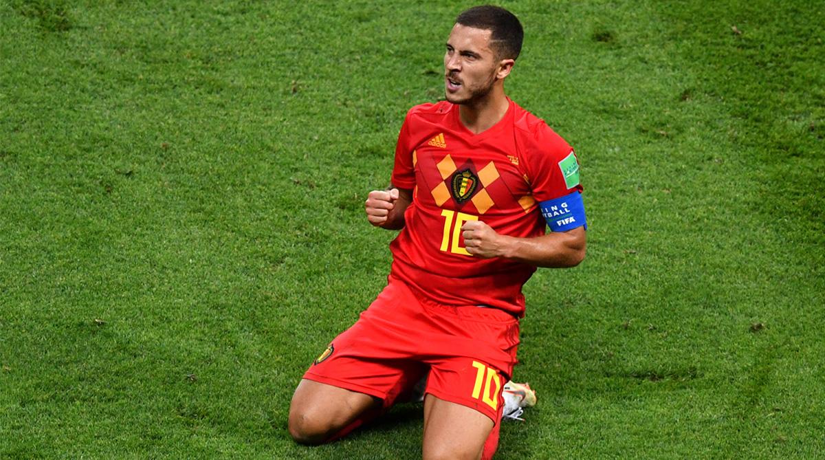 Eden Hazard, France vs Belgium, Belgium Football, 2018 FIFA World Cup, FIFA World Cup 2018