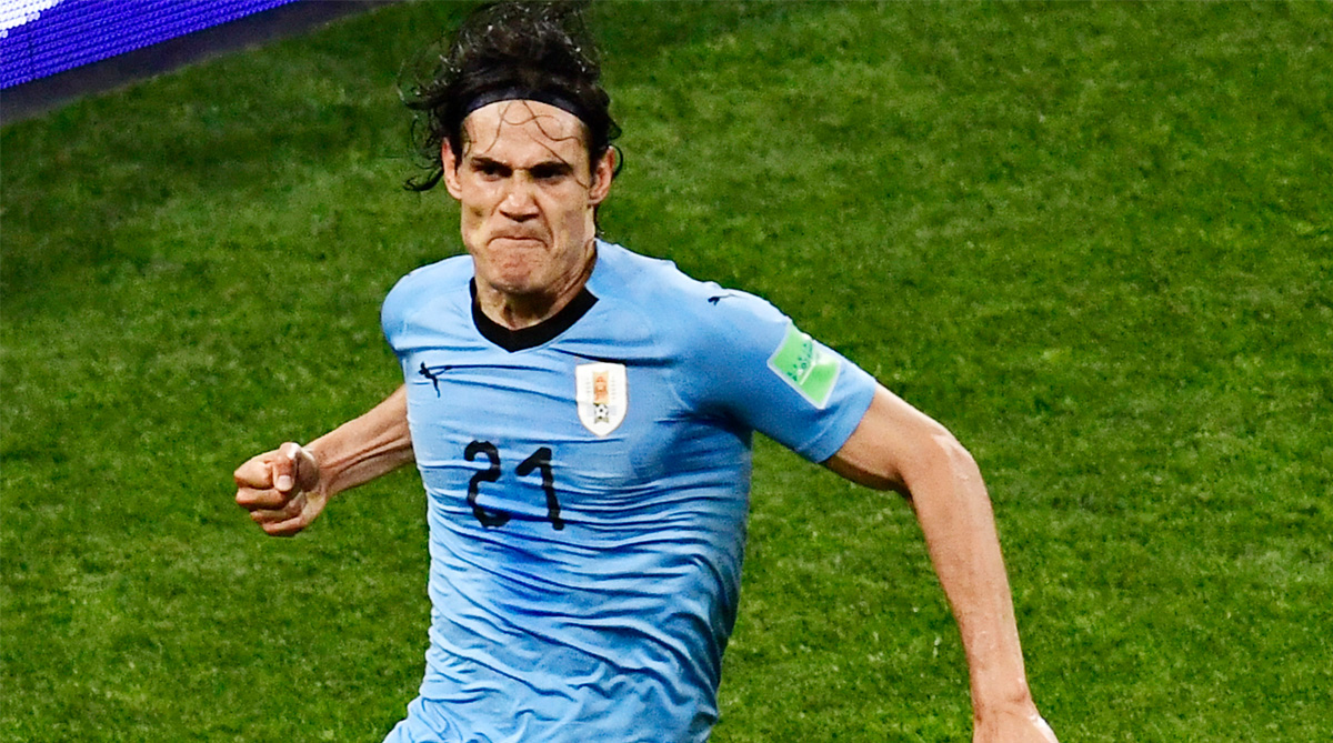 Edinson Cavani, Uruguay Football, 2018 FIFA World Cup, FIFA World Cup 2018