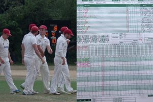 English Cricket Club bowled out for an embarrassing 18 in 11.2 overs