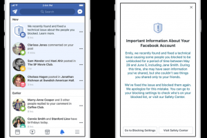 Facebook bug let blocked users see content; 800,000 accounts hit