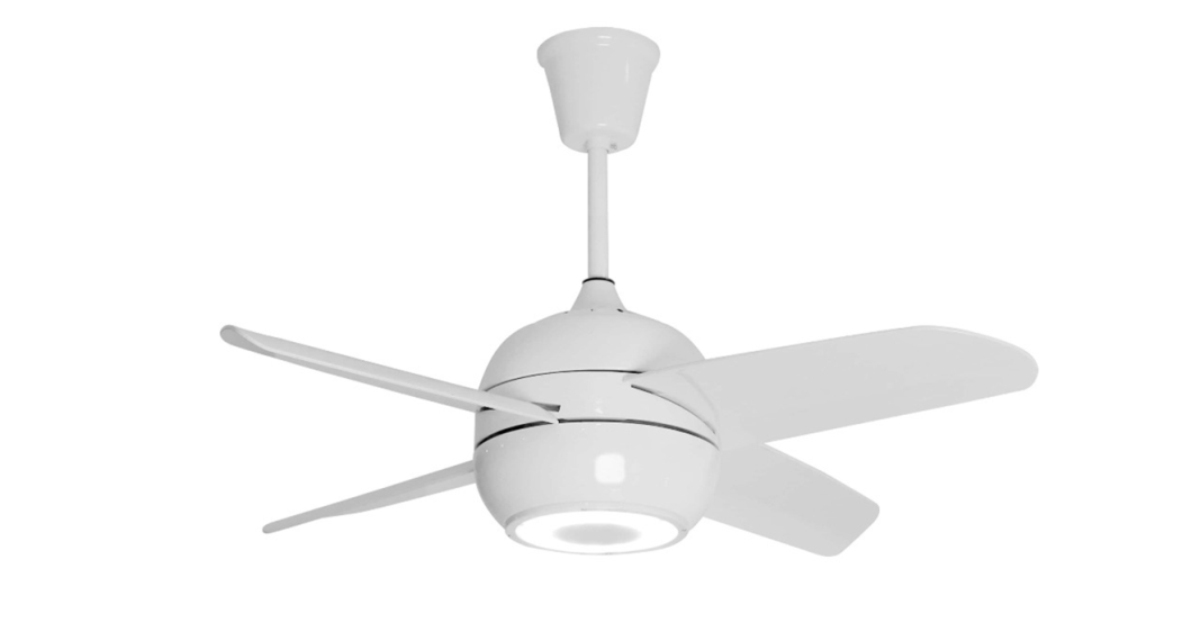 Fan equipped with Bluetooth speaker and LED lights