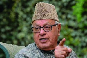 Farooq Abdullah suggests Ireland model to solve Kashmir problem