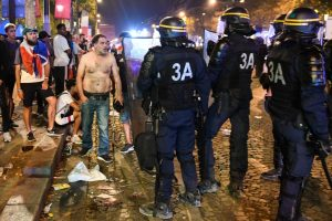 Clashes, road accidents mar French World Cup celebrations