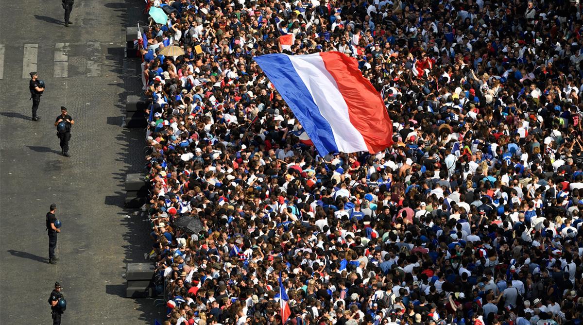 France, Paris, 2018 FIFA World Cup, FIFA World Cup 2018, France Football