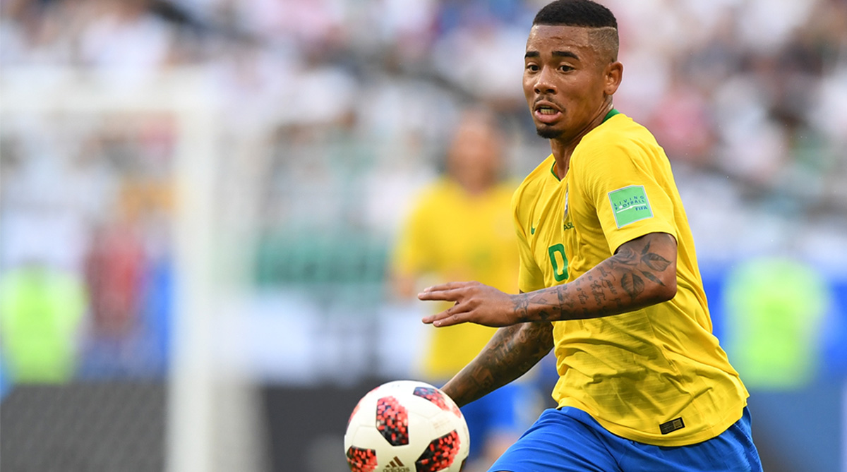 Gabriel Jesus, Brazil Football, 2018 FIFA World Cup, FIFA World Cup 2018, Brazil vs Belgium