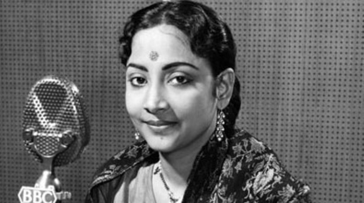 Singer Geeta Dutt