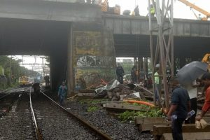 Andheri bridge collapse: Harbour Line restored, work in progress on other routes