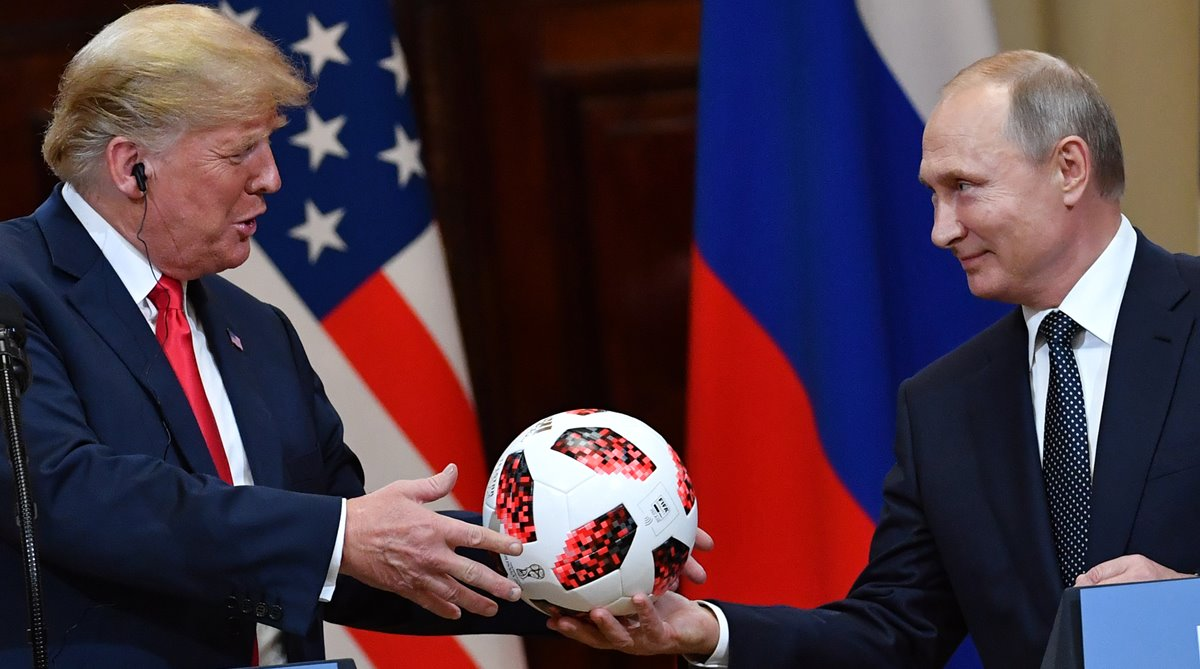 US-Russia ties, FIFA official ball