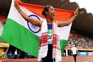 World Jr Athletics Championships: PM Modi, Rahul Gandhi heap praises for Hima Das