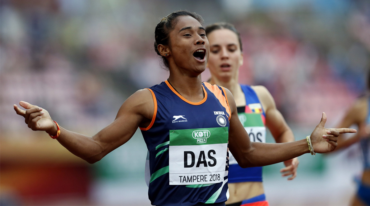 Hima Das, Indian Athletics, World Athletics