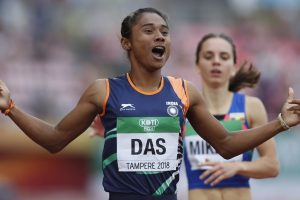 She ran the 400m sprint, but Hima Das won the hurdles!