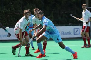 Indian Junior Men's Hockey Team lose to Great Britain 1-3