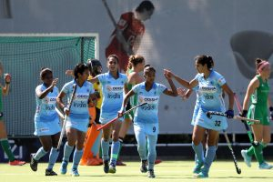 Indian Junior Women's Hockey Team beat Ireland 4-1