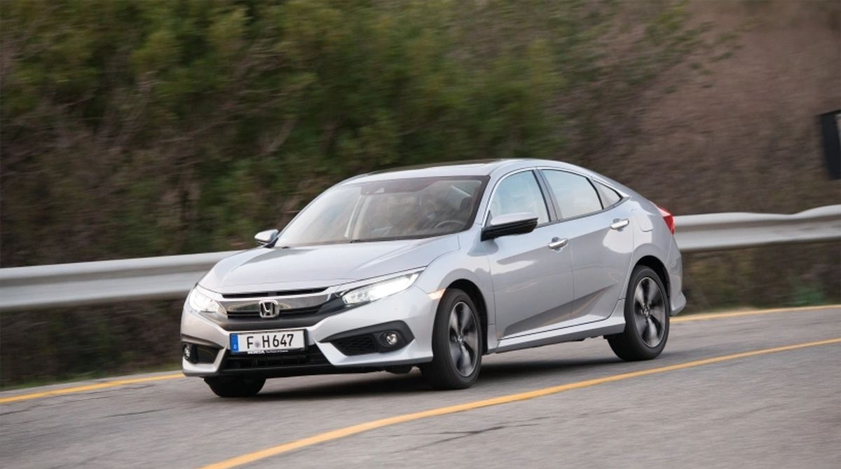 Honda introduces automatic transmission with diesel Civic Sedan