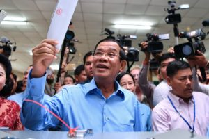 Opposition hit, Press hit and Hun Sen won the election