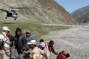 IAF summoned to rescue stranded pilgrims