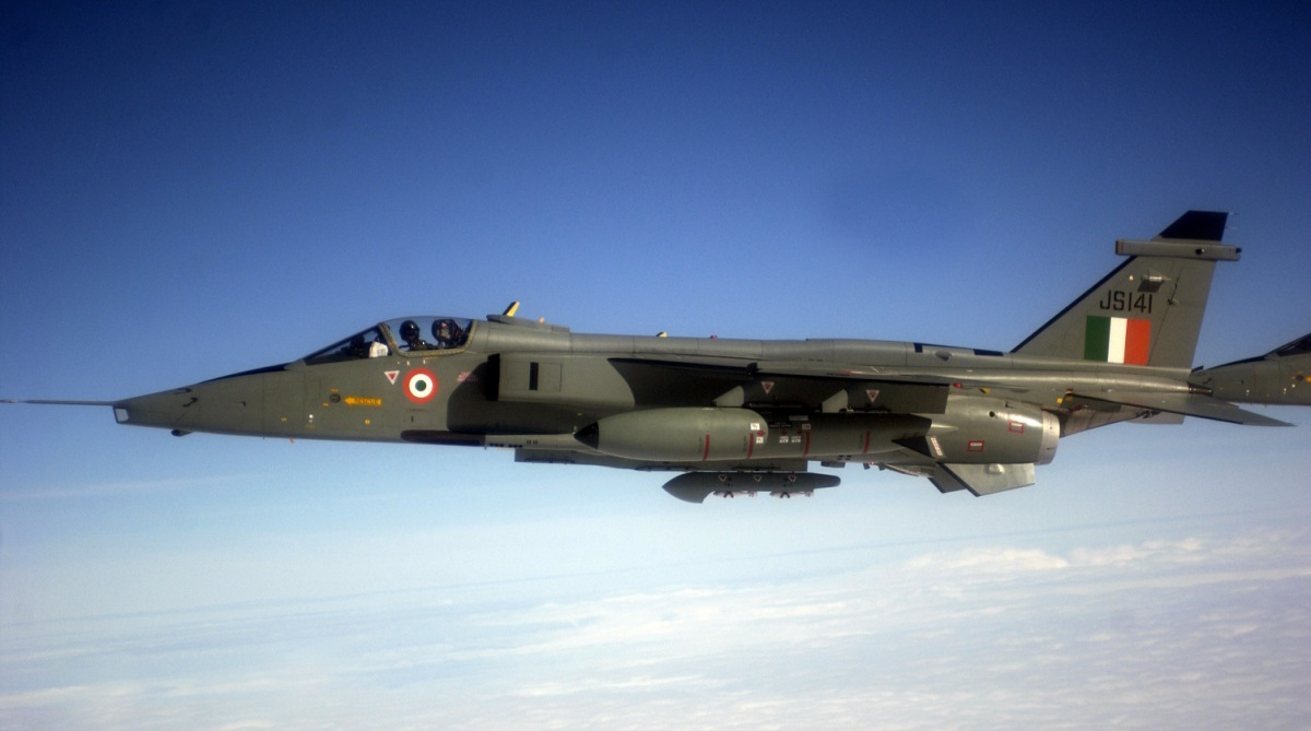 IAF Jaguar fighter jet