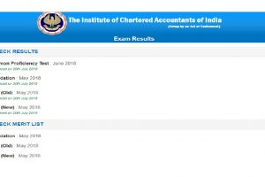 ICAI declares CA final, CA foundation, CPT results 2018 online at icaiexam.icai.org, caresults.icai.org and icai.nic.in | Check results via SMS