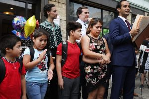 7 immigrant children reunited with their mothers in New York