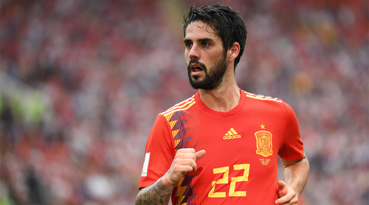 Isco, Spain Football, 2018 FIFA World Cup, FIFA World Cup 2018, Spain vs Russia