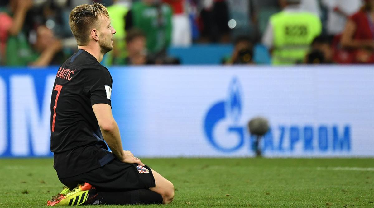 Ivan Rakitic, Russia vs Croatia, 2018 FIFA World Cup, FIFA World Cup 2018, Russia Football, Croatia Football