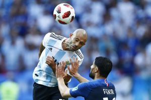 Argentina's Mascherano announces retirement