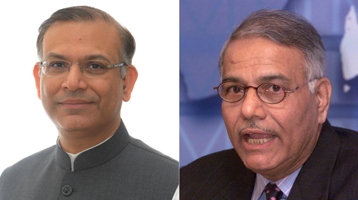 Jayant Sinha Yashwant Sinha