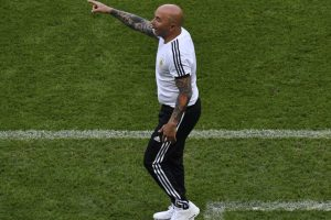 Argentine football federation, coach Sampaoli part ways
