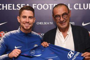 What does Marcos Alonso make of Chelsea new boy Jorginho?