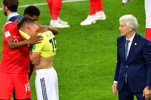 Colombia coach laments fouls against England at World Cup