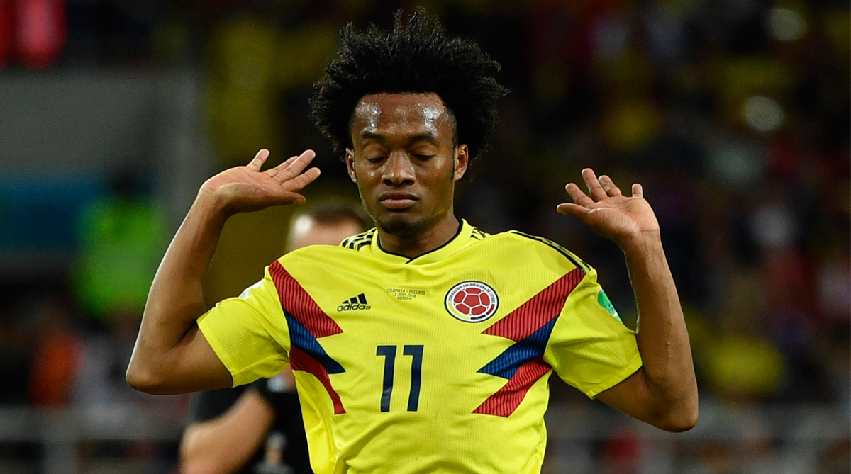 half off 5174a fa878 Juan Cuadrado has 'no problem' giving up Juventus' No.7 ...