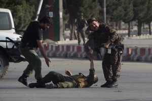 Suicide attack near Kabul airport leaves 10 dead or wounded: officials