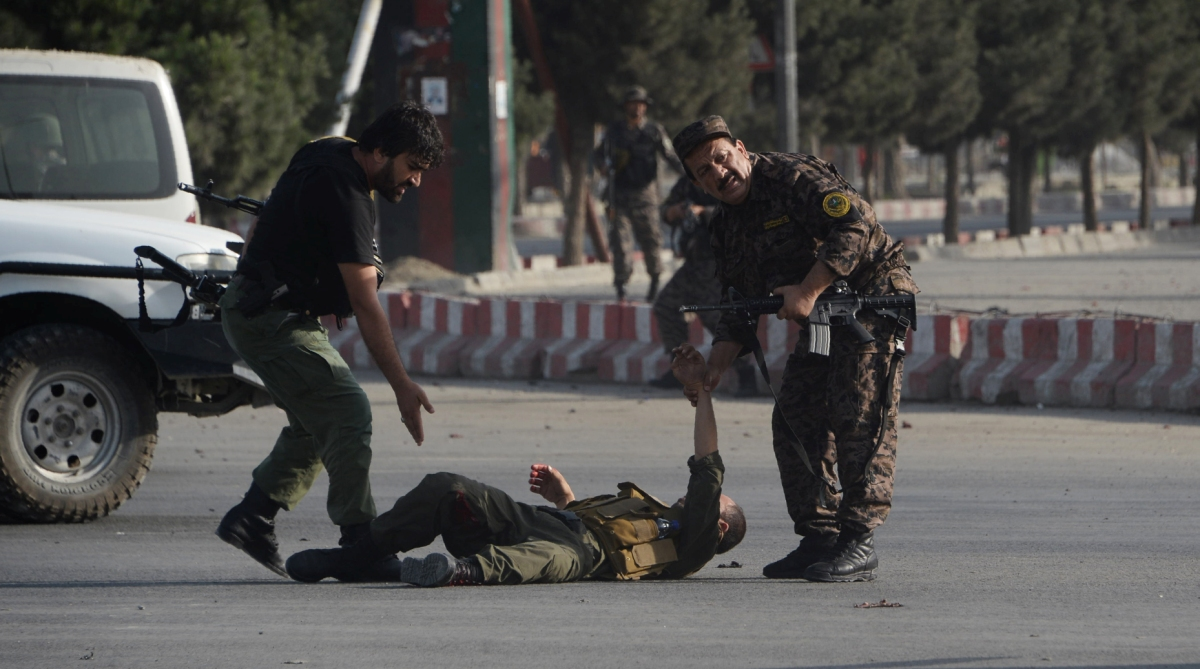 Kabul Airport suicide