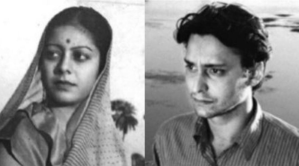 Kanan Debi and Soumitra Chattopadhyay