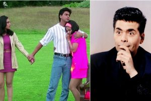 Karan Johar had tough time making SRK laugh in Kuch Kuch Hota Hai scene
