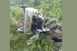Himachal car accident leaves three dead, two injured