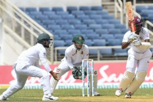 Brathwaite ton puts Windies in control against Bangladesh